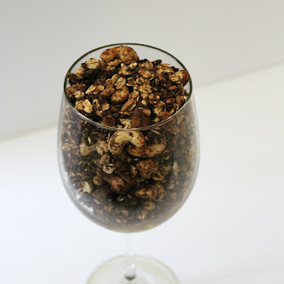 Chocolate Banana Cashew Granola