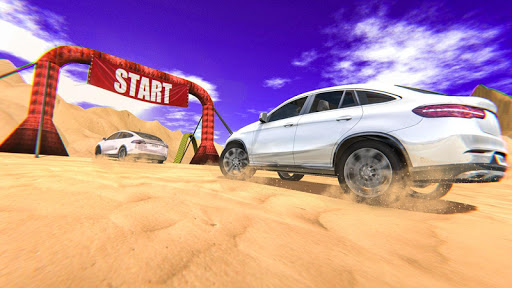 4X4 SUV Desert Jeep Driving Stunts Adventure 2018 screenshot 2