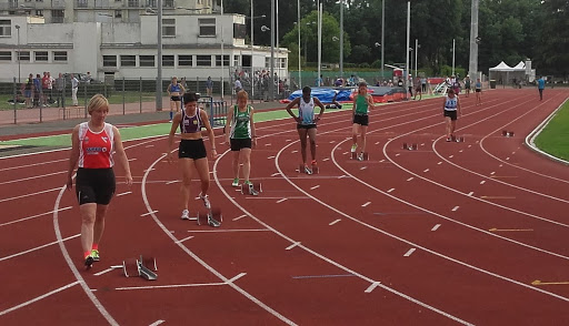 Laurence au 200m