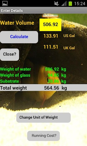 Aquarium Heat Cost calculator APK 1 0