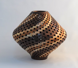 "Photo: Bob Grudberg - Segmented, Hollowed Vessel - 10"" x 8"""