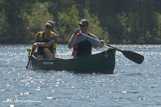 Photo: Paddling friends on a summer day