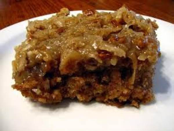 Bigger/best Chocolate Oatmeal Cake Recipe
