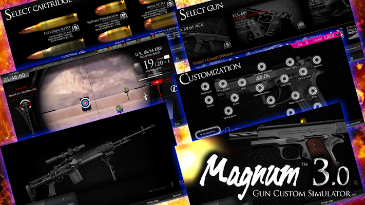 Magnum3.0 Gun Custom Simulator - screenshot