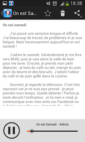 android learn french speak french Screenshot 3