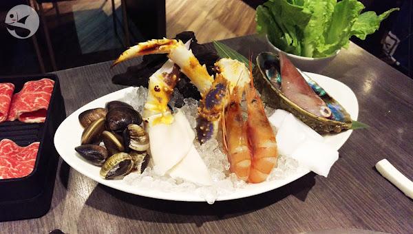 品火鍋,台北林森公園,澎湃美味的帝王蟹吃到飽