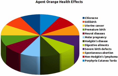 the negative effects of agent orange to vietnam war veterans since the 1960s The orphans of agent orange: fifty years on, children suffer from the horrific effects of america's use of chemical weapons during the vietnam war.