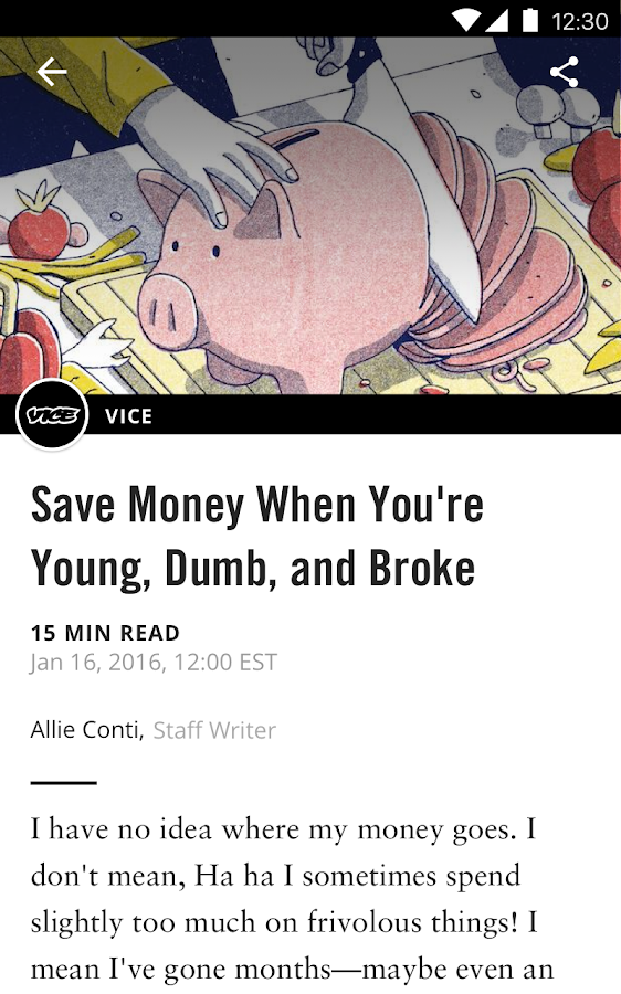 VICE- screenshot