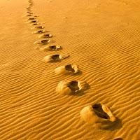 All'alba sulle dune  di Piscinas di