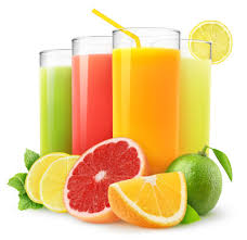 Jus de fruits frais pressé sur place (Orange/pomme)