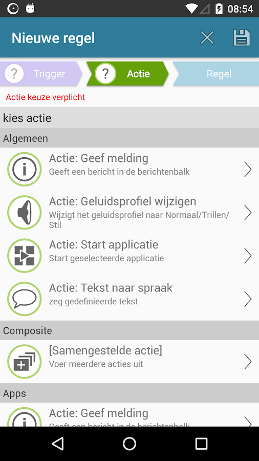 AutomateIt - Smart Automation: screenshot