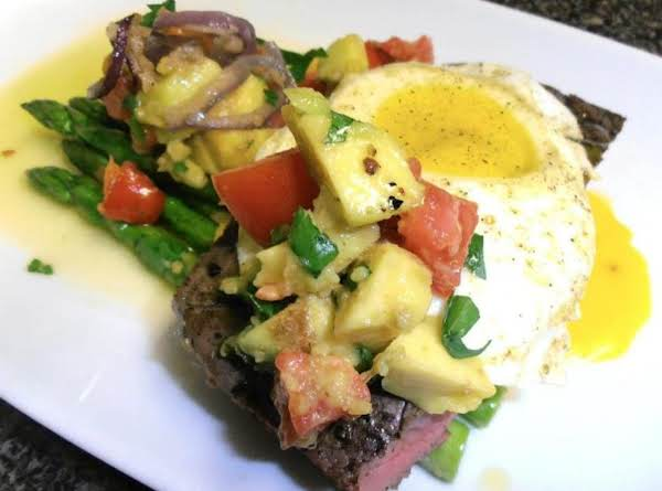 Colleen's Gussied Up Steak Recipe