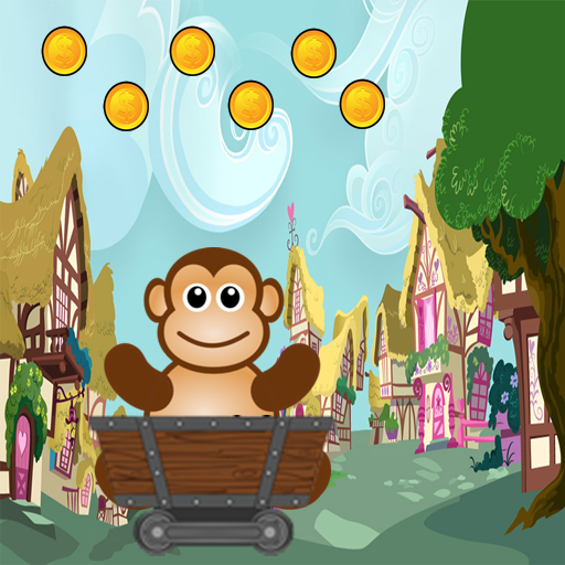 Monkey Coins trolley