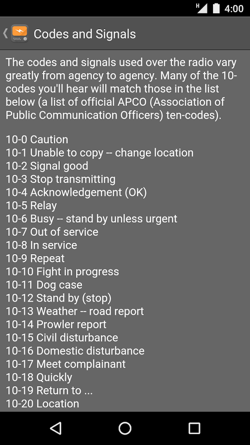 Scanner Radio Pro- screenshot