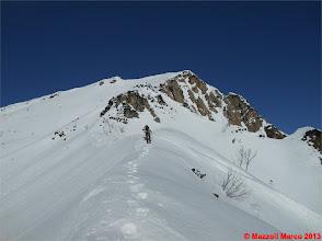 Photo: Mar_DSCN0565 tentiamo la cresta verso lo zevola, ma torneremo indietro