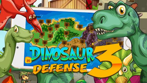 Dinosaur Défend King 3 – Chase Dinosaur Down fond d'écran 1