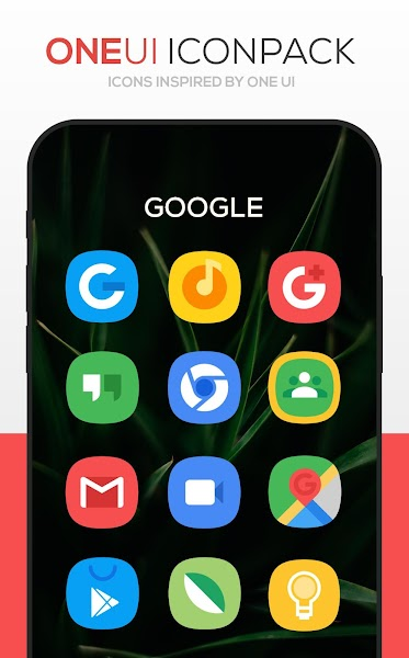 ONE UI Icon Pack Screenshot Image