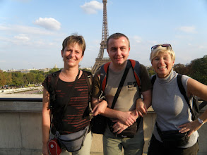Photo: Tam dozadu máme namířeno zítra (Trocadéro)