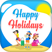 Happy Holiday Greeting Cards Maker