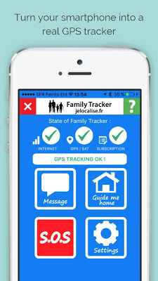 Family Tracker Phone Tracking - screenshot