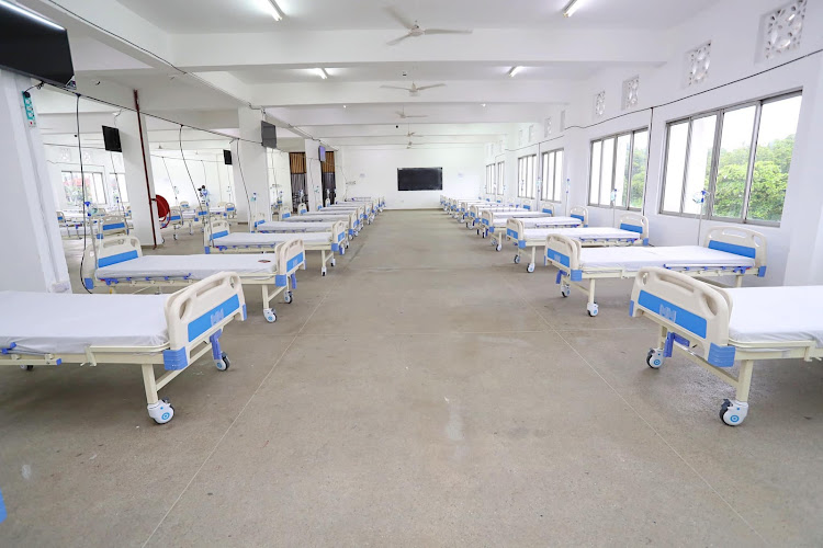 The 300-bed Technical University of Mombasa Covid-19 isolation centre