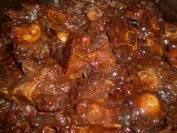 Stewed Ox Tails Recipe