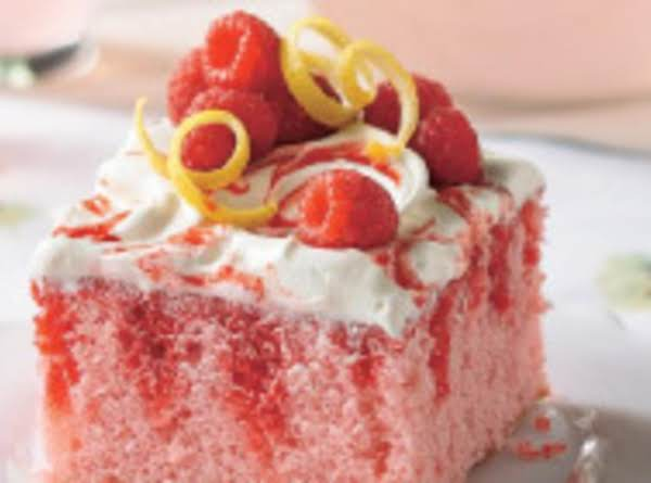 Raspberry Lemonade Cake Recipe