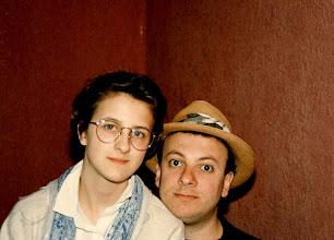 Photo: With George. Me in Ecuadorean Panama Hat