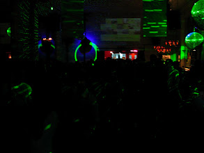 Photo: The talk was in a nightclub, packed, 300 people