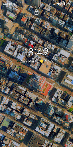 Metropolis 3D City Live Wallpaper [FREE] 🏙️ screenshot 1