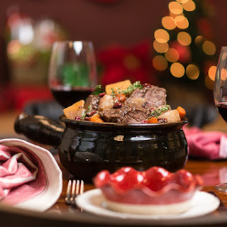 Slow Cooker Holiday Pot Roast.