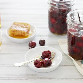 Bourbon and Honey Soaked Cherries