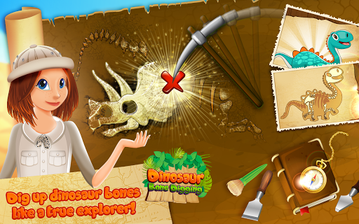 Dinosaur Bone Digging Games  screenshots 2