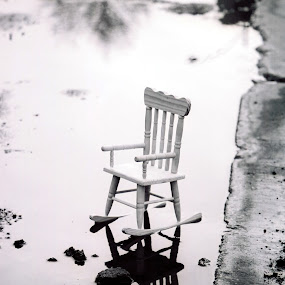 reflections by Brittany Humphrey - Artistic Objects Furniture ( water, film, chair, rocker, rocking, toy )