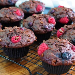Berry And Chocolate Muffins Recipes