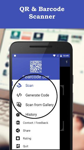 QR & Barcode Scanner Pro screenshot