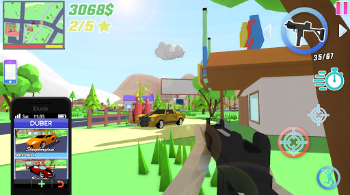 Dude Theft Wars: Open World Sandbox Simulator BETA Screenshots 6