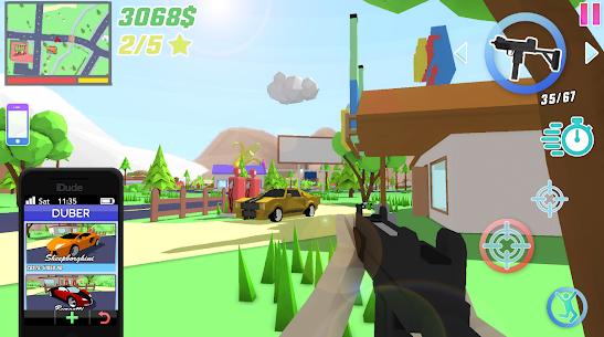 Dude Theft Wars Mod Apk 0.9.0.3 (Free Shopping) 6
