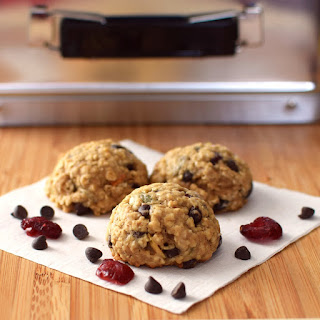 Cranberry Chocolate Chip Oatmeal Cookies.