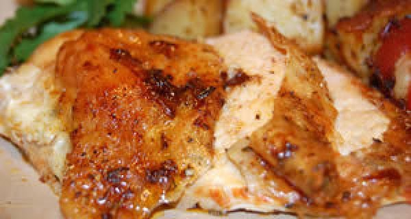 SAUCE/GRAVY ONCE CHICKEN IS ROASTED, SCRAPE ALL DRIPPINGS INTO FRY PAN AND MIX PAPRIKA,...