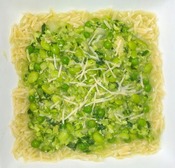 Orzo Greenery Recipe