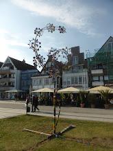 Photo: Windspiel aus Fahrradteilen von Stahlbildhauer M.Flodin