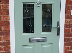 Bespoke Composit Door Installation