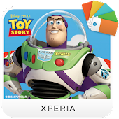 XPERIA™ Toy Story Buzz Theme