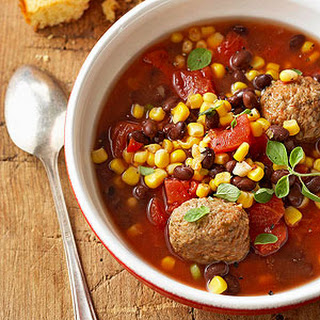Mexican Meatball Stew.