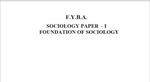 BA Sociology(Complete Notes)2019 7.0 screenshots 1