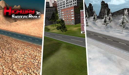 Highway Shooting Rivals 3D - náhled