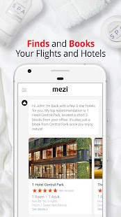 Mezi - Your Personal Travel and Booking Assistant- screenshot thumbnail