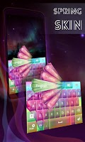 Screenshot of Spring Skin for Keyboard