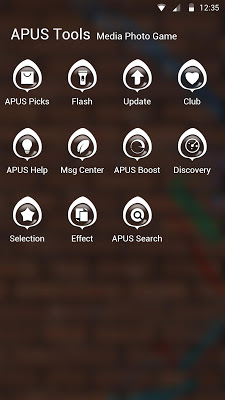 Play-APUS Launcher theme - screenshot